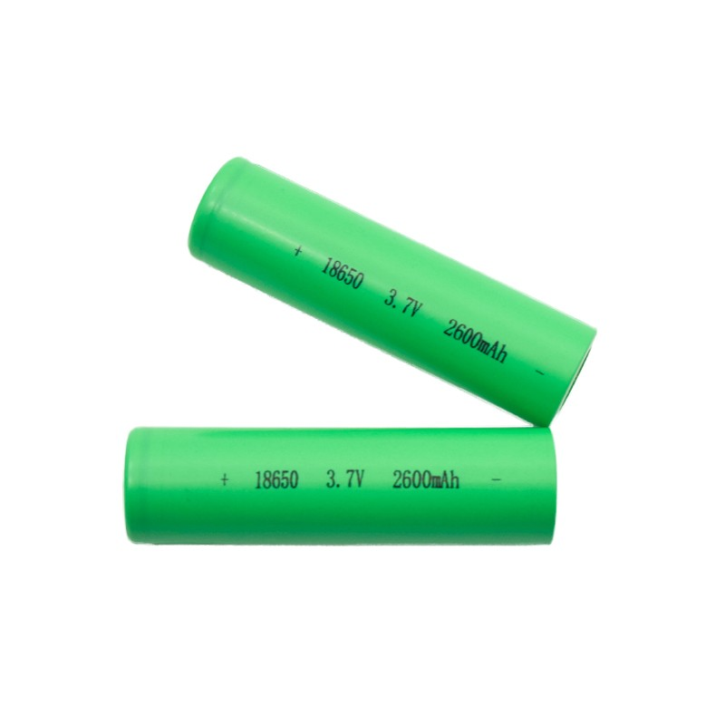 Cylinder Lithium ion 18650 2600mah 9.62wh 3.7v Battery with OEM Service