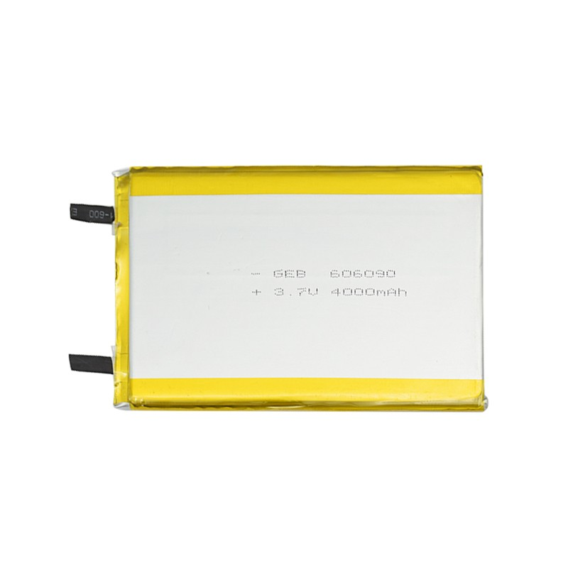 Rechargeable 606090 3.6V Li ion Lipo Lithium Polymer Li-polymer Batteries 14.8Wh 3.7V 4000mAh with 4000 mAh Li-ion Battery Cell