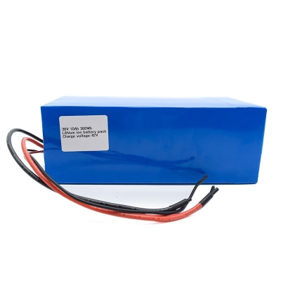 Rechargeable 36V 10Ah lithium ion battery pack for Ev Tour Bus Golf